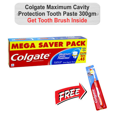 Colgate Maximum Cavity Protection Tooth Paste 300gm (C)