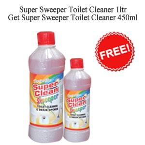 Super Sweeper Toilet Cleaner 1ltr